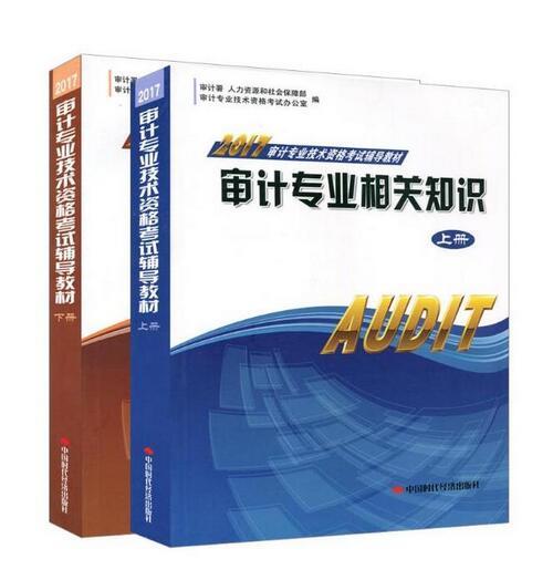 2017年审计师教材审计理论与实务审计专业相关知识上下册全套2本