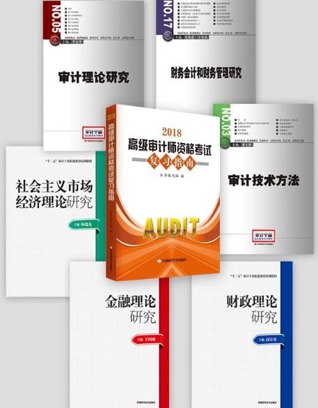 2018高级审计师考试用书